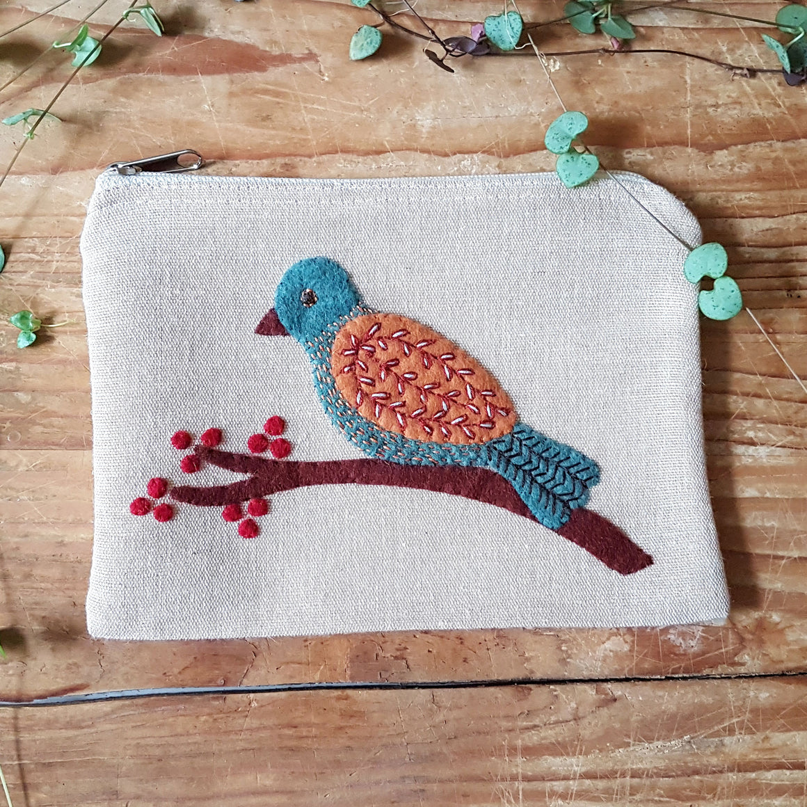 Past Subscription Box May 2020 - Spring Bird Pouch