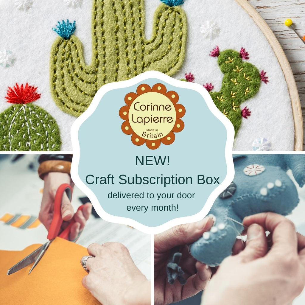 Corinne Lapierre Craft Subscription Box