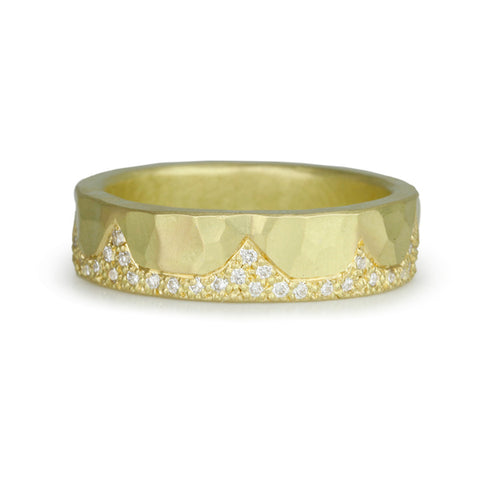 "Gold and Diamond ""Summit"" Ring"