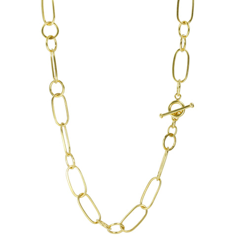 "20K Gold Mixed Link Large ""Sybille"" Chain"