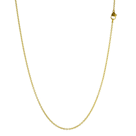 Gold Cable Link Chain in 16""