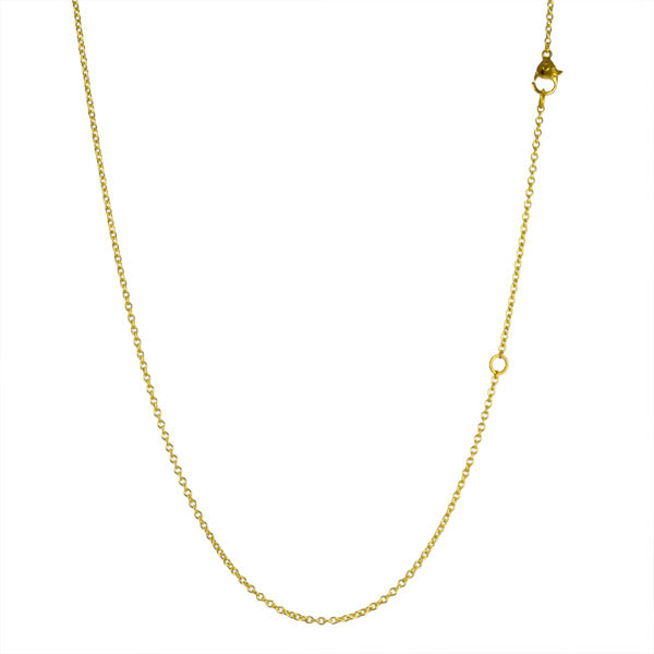 Gold Cable Link Chain in 16-18""