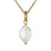 Caroline Ellen Oval Faceted Larger Goshenite Bead Pendant (3.10 ct)