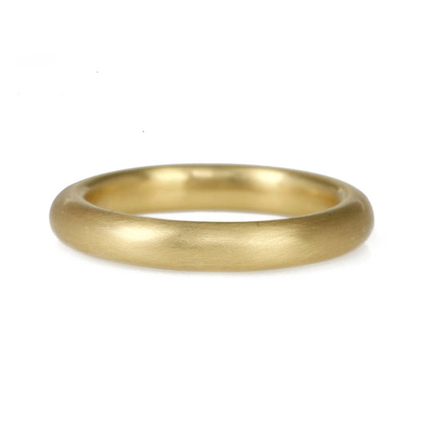 20K Gold Wide High Dome Band