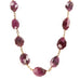 Cathy Waterman 22K Gold Wire-Wrapped Faceted Ruby Station Necklace