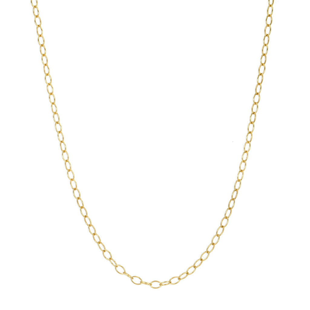 "22K Gold ""Tiny Lacy"" Chain in 26"""
