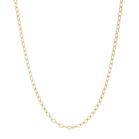 "Cathy Waterman Gold ""Tiny Lacey Chain"" in 16"""