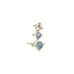 Small Moonstone and Diamond Climber Earring