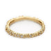 Ruth Tomlinson Gold Double Beaded Band with Scattered White Diamonds