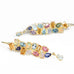 "Gold and Multi Stone ""Mosaic Carnivale""  Earrings"