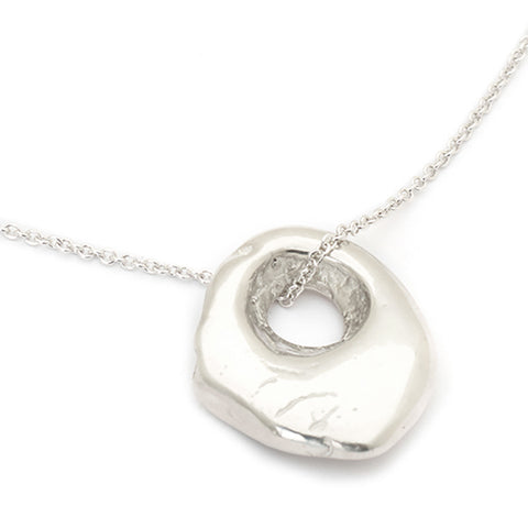 "Johanna Brierley Sterling Silver ""Cave Luck"" NecklaceJohanna Brierley Sterling Silver ""Cave Luck"" Necklace"