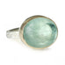 Jamie Joseph Smooth Oval Green Beryl Ring