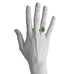 Jamie Joseph Asymmetrical Green Tourmaline Ring