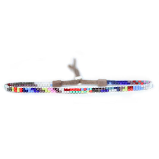 "Julie Rofman Slim Beaded ""Belize"" Bracelet"