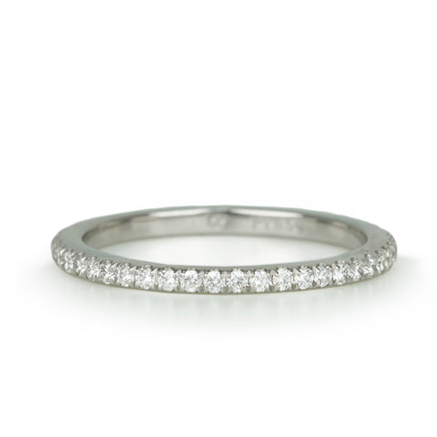 Mark Patterson Platinum and Diamond Eternity Band