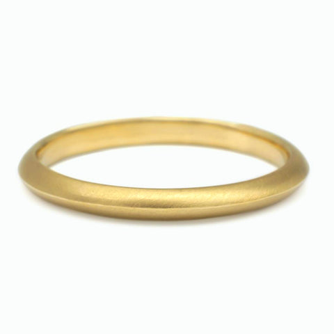"Gold ""Knife Edge"" Ring"