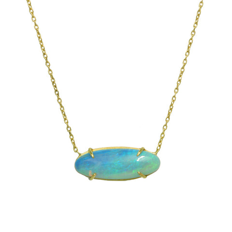 Rosanne Pugliese Oval Crystal Opal Necklace