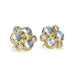 "18 Karat Yellow Gold ""Classic Trio"" Post Earrings"