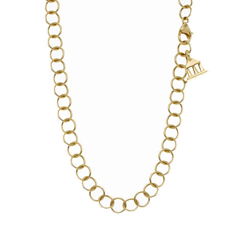 "Gold ""Classic Round"" Chain in 32"""