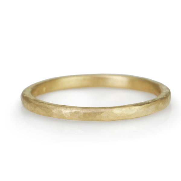 Gold Hammered Band