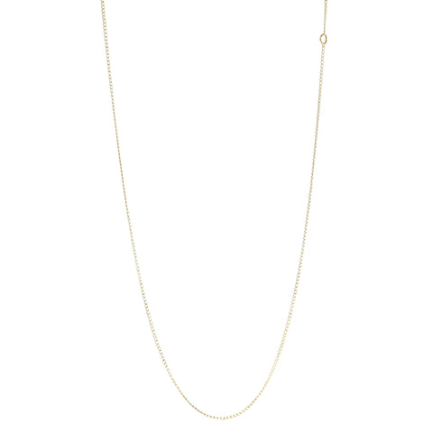 "10 Karat Yellow Gold 18"" ""Curb"" Chain"