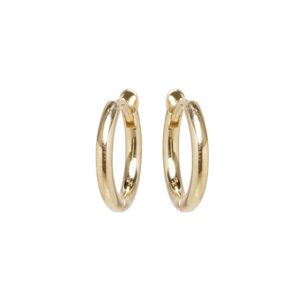 Zoe Chicco Gold Small Huggie Hoops