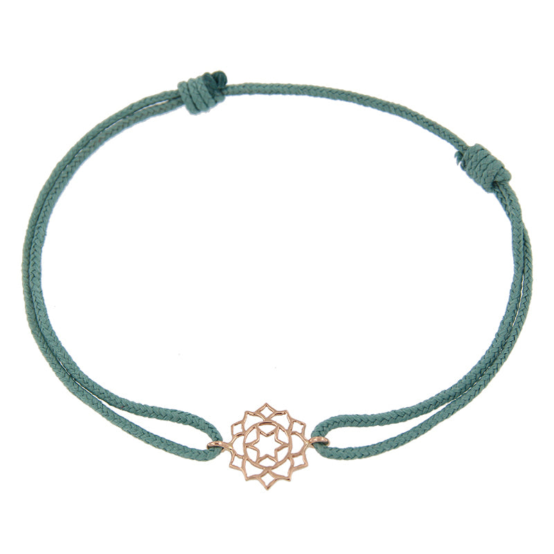 Rose Gold Mini Anahata/Heart Chakra Bracelet