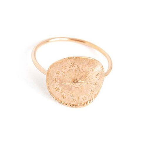 "Rose Gold ""Cosmic Eye"" Ring"