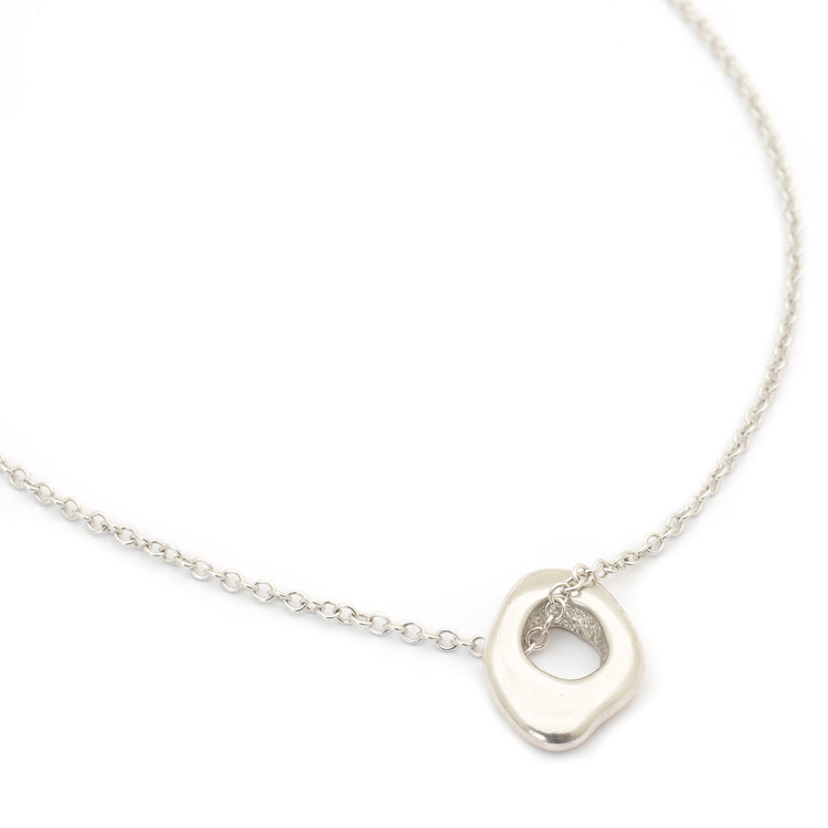 "Sterling Silver Long ""Spy"" Necklace"
