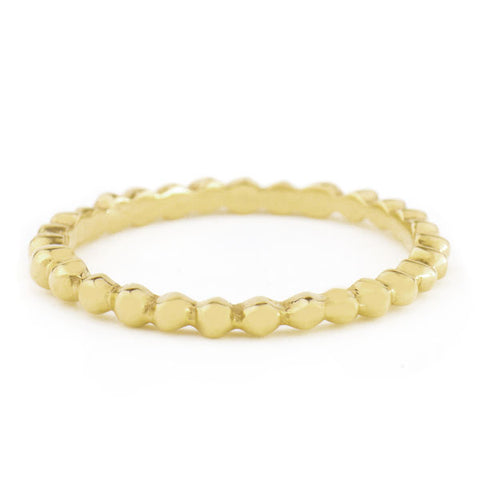 Anne Sportun Gold High-Polished Seed Band