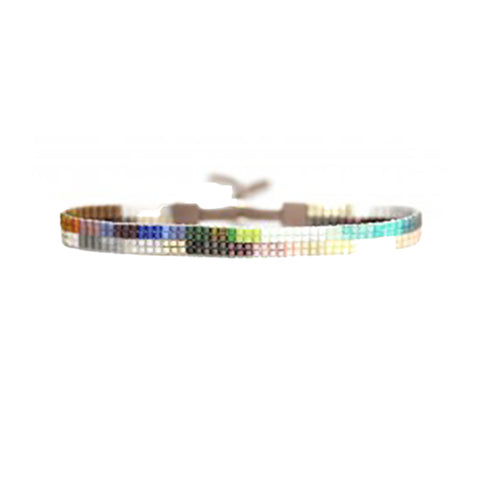 "Beaded Slim ""Stripe"" Bracelet"