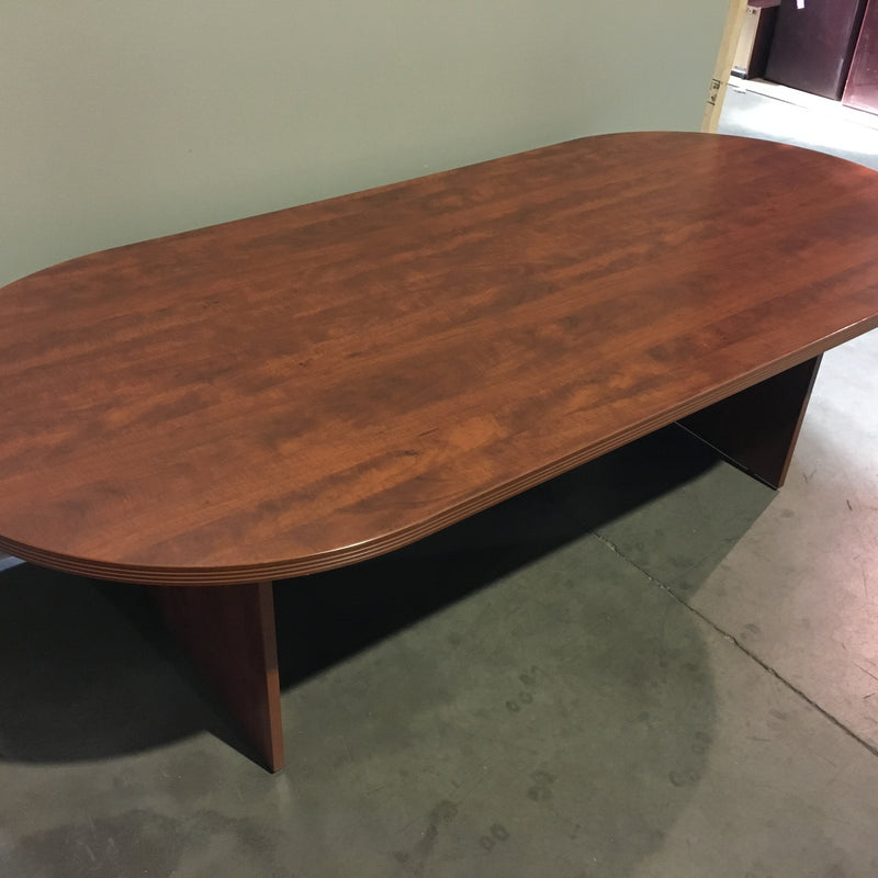 BOARDROOM TABLE RED OAK