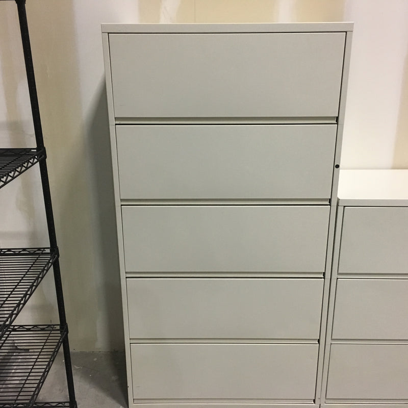 HERMAN MILLER MERIDIAN 5 HIGH FILE CABINET