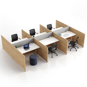 Axel workstations with adjustable tables