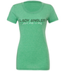 Fly Rod Tri-blend SS Tee - Lady Angler Co
