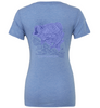 BoHo Bass Relaxed Jersey SS V-Neck Tee - Lady Angler Co