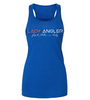 Signature Lady Angler Flowy Racerback Tank - True Royal - Lady Angler Co