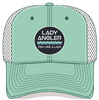 Spur Teal Snapback Trucker Hat - Lady Angler Co