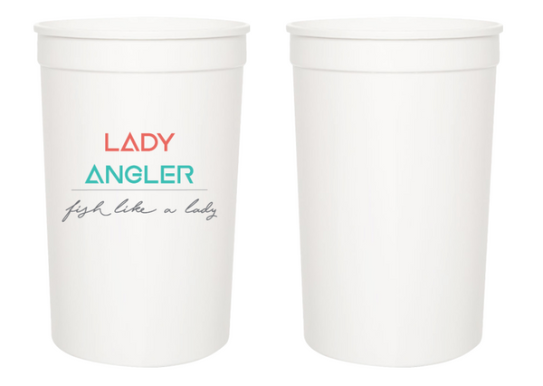 Lady Angler Stadium Cups: 4-Pack - Lady Angler Co