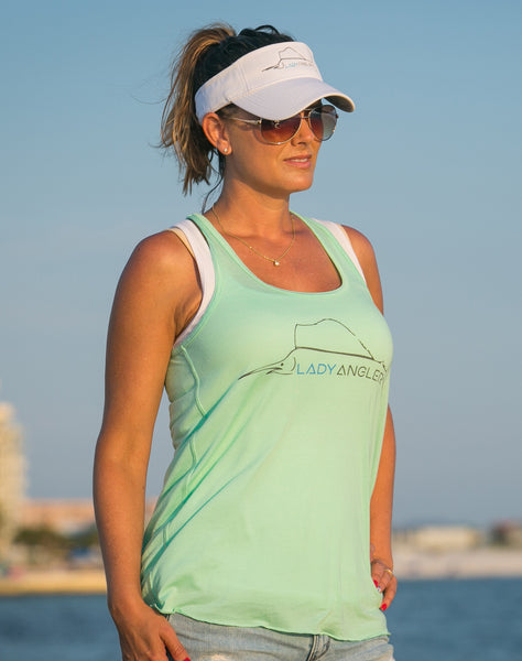 Sailfish Flowy Racerback Tank - Lady Angler Co