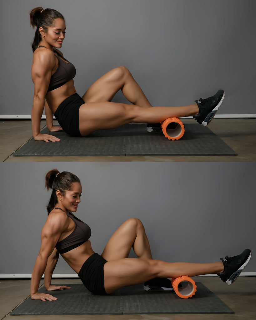 calf roll foam roller exercise
