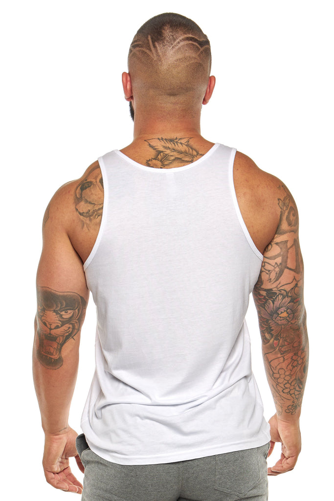 Full Circle Tank Top White