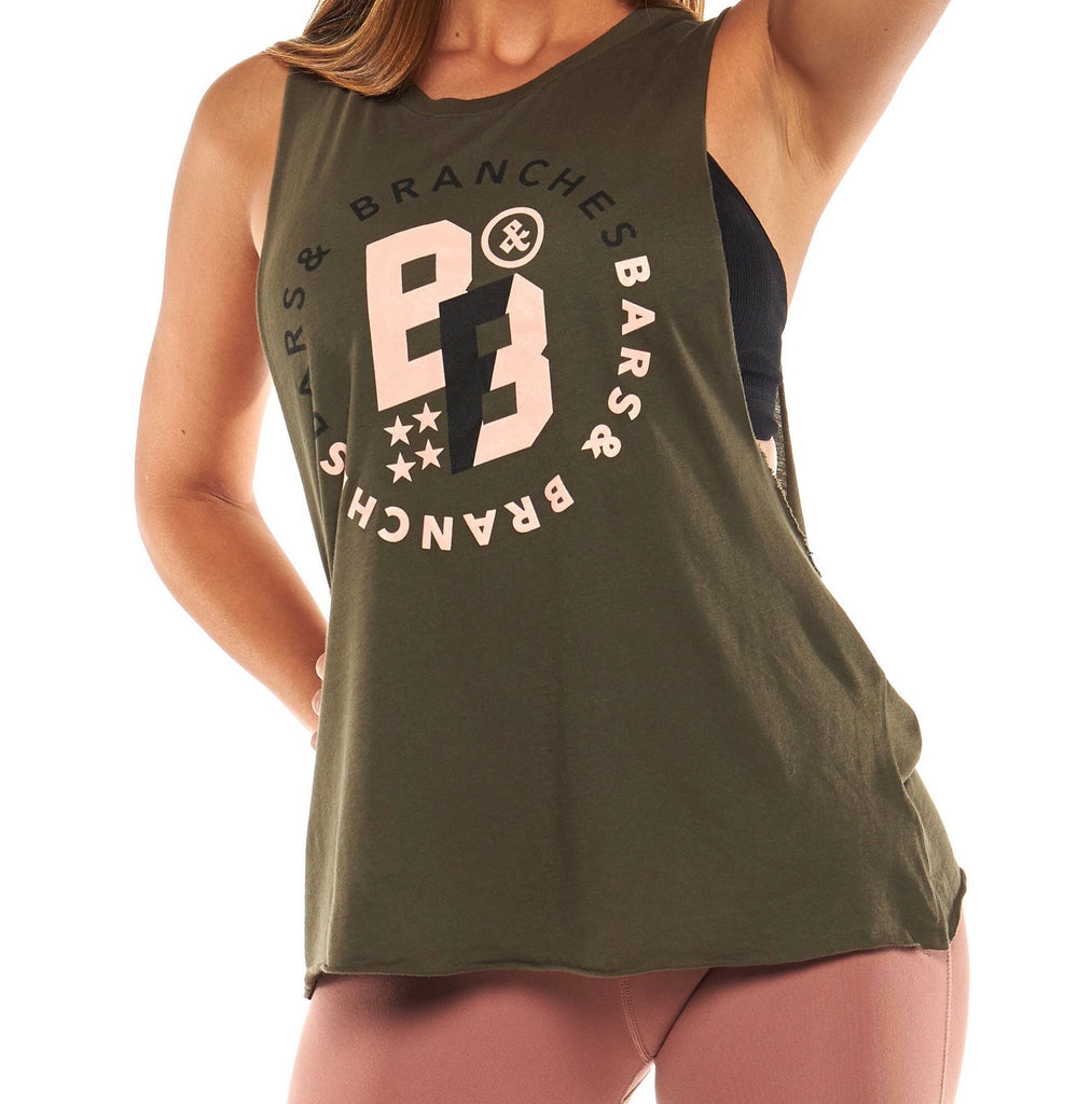 Full Circle Women's Tee Olive