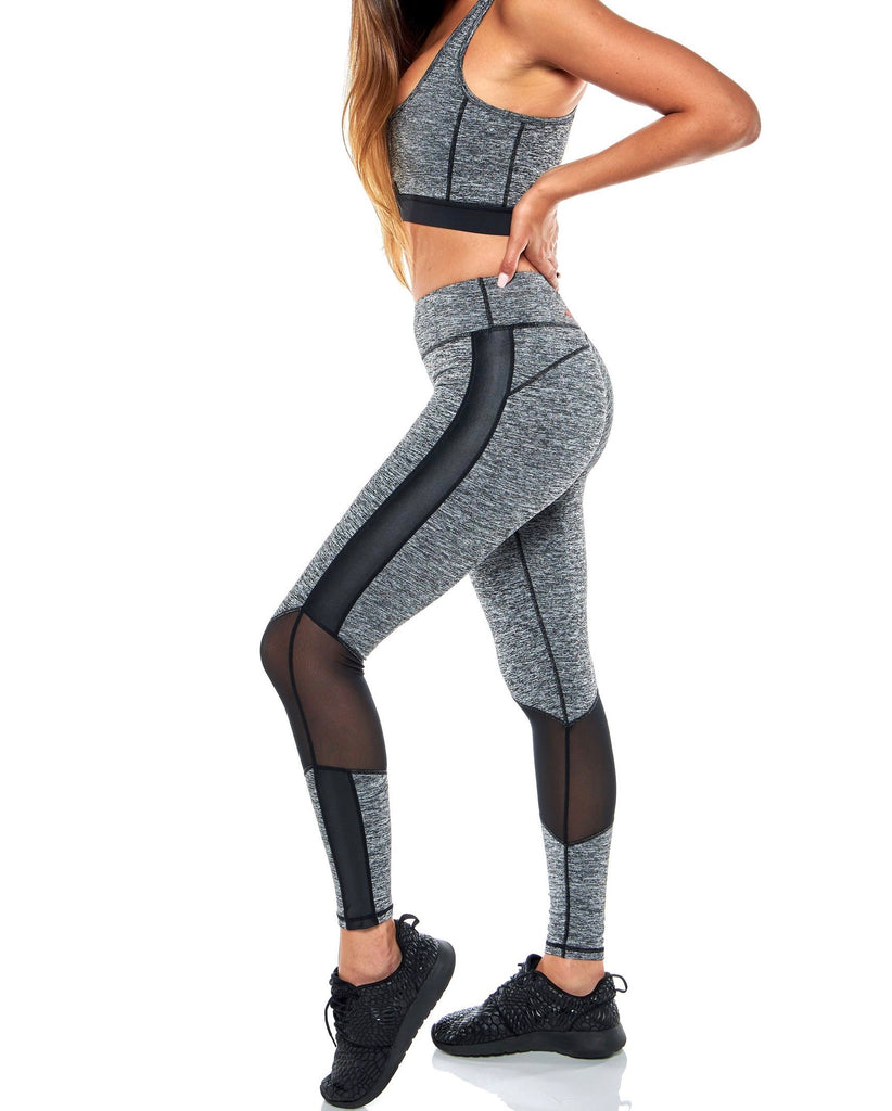 Grey Core Leggings