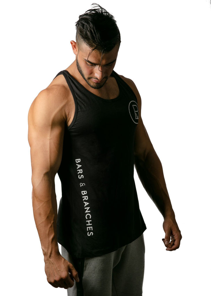 Logo Side Tank Top