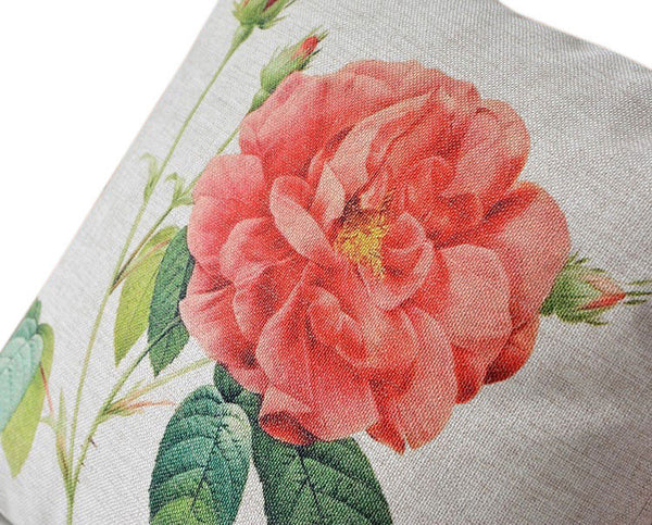Buy the Rose Floral, Stripe & Check Cushion Covers by Cushions Int.