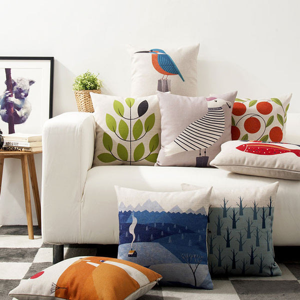 Orange Hills Cushion Cover Collection by Cushions Int.