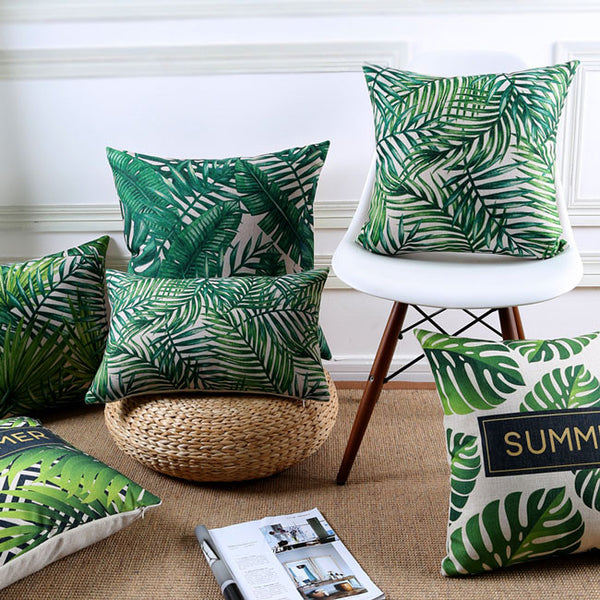 Buy the Hello Summer Jungle Cushion Covers by Cushions Int.