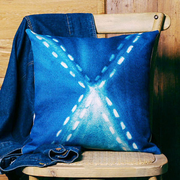 Buy the Mediterranean Blue Cushion Covers by Cushions Int.