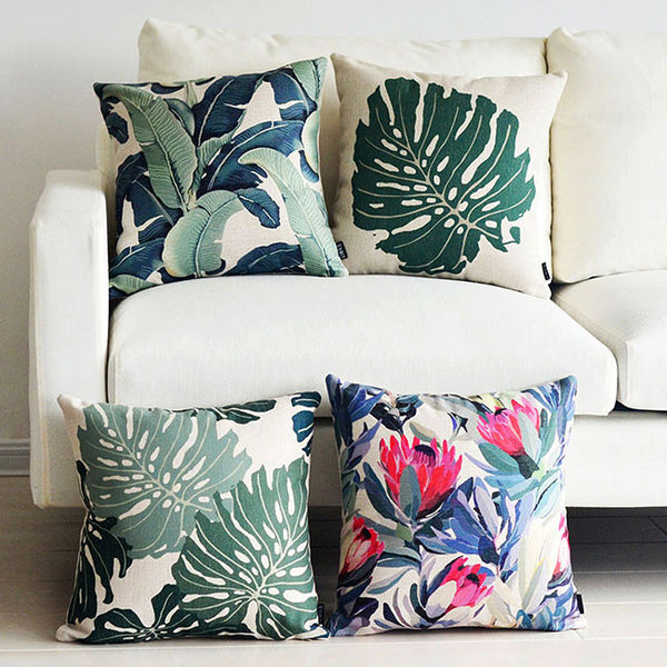 Buy the Waratah Plant Cushion Covers by Cushions Int.